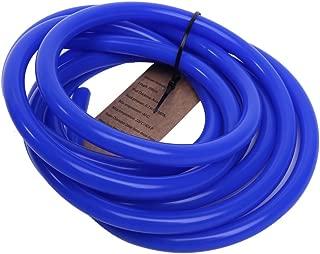 Hiwowsport 10' Length High Temperature Silicone Vacuum Tubing Hose Blue Color (4MM(5/32''))
