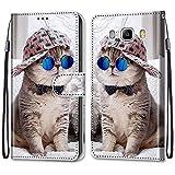 i-Case Etui en PU 360 Protection Full Cuir pour Samsung Galaxy J5 2016 Coque Flip Case Housse Rabat...