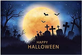 Benficial Halloween Backdrops Pumpkin Vinyl 5x3FT Lantern Background Photography Studio