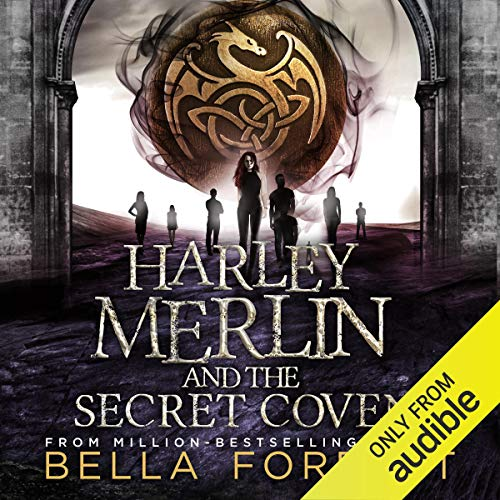 Page de couverture de Harley Merlin and the Secret Coven