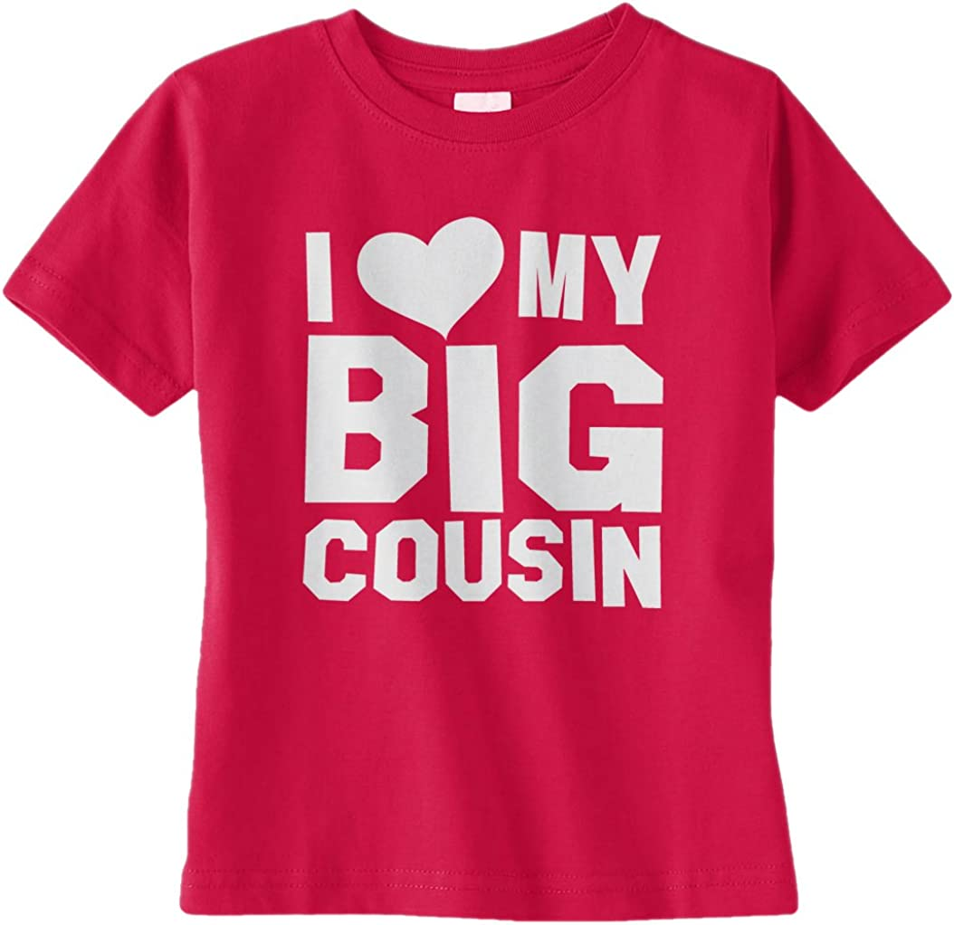 I Love My Cousin They Rock Personalised Baby Toddler T Shirt Kids Funny Gift