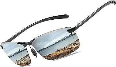 Bircen Fashion Driving Polarized Sunglasses for Men UV400 ProtectionMen's Sports Fishing Golf Sunglasses