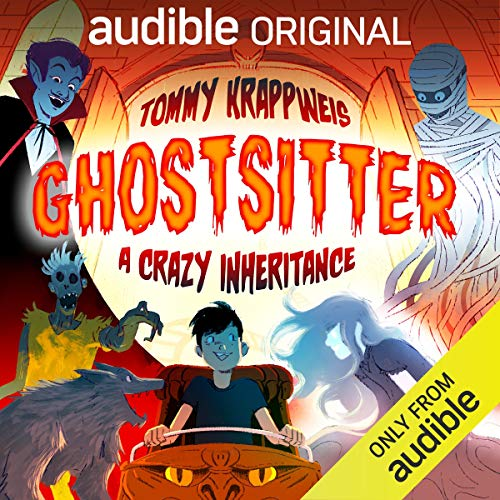 Ghostsitter - A Crazy Inheritance  By  cover art