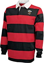 Wales Hooped Rugby Shirt
