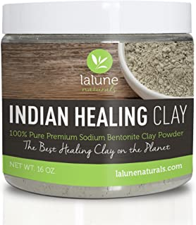 Bentonite Clay, Indian Healing Clay 16 Oz w/eBook