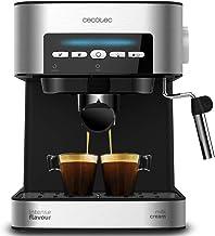 Cecotec Digital Power Espresso 20 Matic Cafetera Express para Espresso y Cappuccino, 850 W, 20 Bares, Vaporizador Orientable, Digital