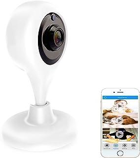 cámara de vigilancia cámaras de seguridad Amotus Wireless N los movimientos y los sonidos del detector visión nocturna Alcance notificaciones Push para PC / iPhone / iPad / Smartphone
