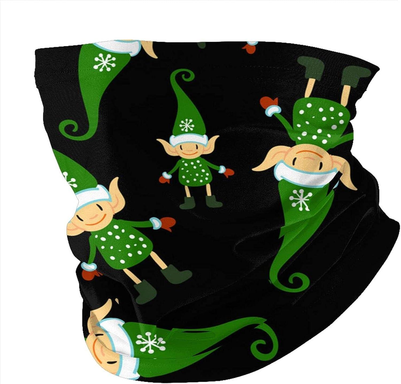 Variety Head Scarf,Christmas Doodle ElfVariety Headscarves Men And Women Multi-Function Headscarves.