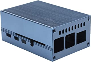 Kylskåp, aluminiumlegeringsskydd värmeavledande skyddshölje för Pi 4 Enkel installation, inbyggd kraftfull kylare