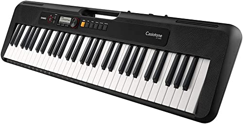 Casio CT S200 Casiotone 61 Key Portable Keyboard Black