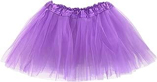 Girl Tutu Skirt, 3 Layered Fluffy Tutus, Ballet Dance Dress Up for Girls, 2-8T