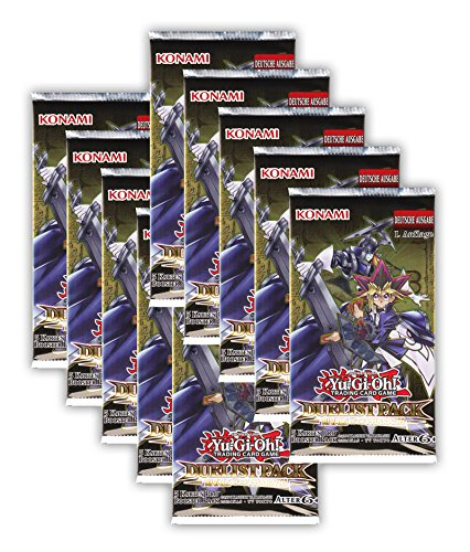 Yu-Gi-Oh! Duelist Pack: Rivals of The Pharaoh 10 Booster Packungen - 1. Auflage deutsche Ausgabe