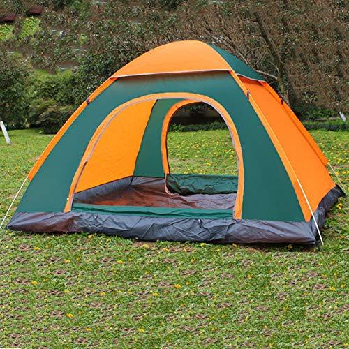 Automatische pop-up tent, waterdicht winddicht, UV-bescherming, 2-4 personen lichtgewicht, gemakkelijk snel op te zetten, perfect voor strand, buiten, raveling, wandelen, kamperen, jagen, vissen, enz,3