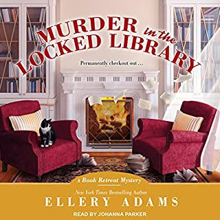 Murder in the Locked Library     Book Retreat Mystery series, Book 4              Written by:                                                                                                                                 Ellery Adams                               Narrated by:                                                                                                                                 Johanna Parker                      Length: 9 hrs and 25 mins     1 rating     Overall 5.0