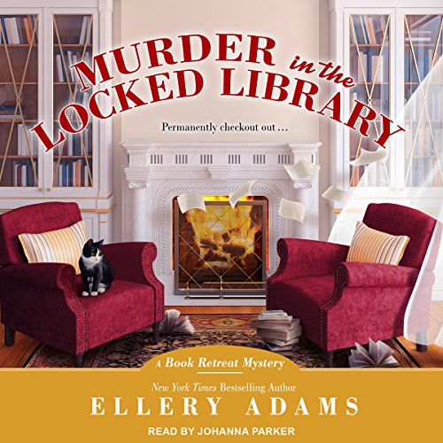Murder in the Locked Library audiobook cover art