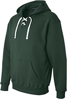 J. America Men's Sports lace up hoodie sweatshirt