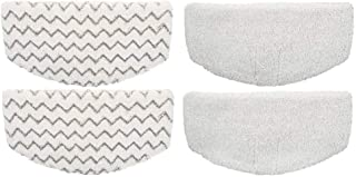 eTzone Steam Mop Pads, Pad Replacement for Bissell Microfiber Powerfresh Steam Mop 1940 1440 1544 Series, Model 19402 19404 19408 1940A 1940Q 1940T 1940W-4 pcs