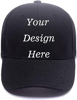 Custom Snapback Hats for Men /& Women Number #1 Baker Embroidery Cotton Snapback
