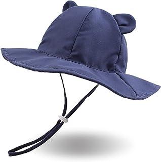XIAOHAWANG Large Bord Bébé Chapeau De Soleil Mignon Ours Chapeau pour Fille Garçon Été Enfant Casquette