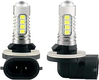 POLARIS SPORTSMAN RANGER RZR 1600LM HIGH POWER 90W HEADLIGHT LED LIGHT BULBS 6000K SUPER WHITE