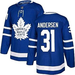 XIKADAN NHL Mitch Marner 16/Auston Matthews 34/Rilly 44/William Nylander 29/John Tavares 91 Toronto Maple Leafs Trikot,31,3XL