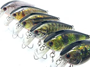 wLure Minnow Crankbait for Bass Fishing Bass Lure Jerkbait Fishing Lure