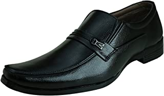 Blinder Men's Black Non-Lace Formal Shoes