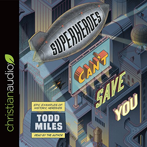 Superheroes Can't Save You audiobook cover art