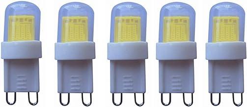 G9 3W LED-lamp, warm wit 3000K / koel wit 6000K, 20W gloeilamp Equivalent, 260lm COB Lamp Light, verduisteren, AC220V, 5-P...