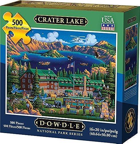para proporcionarle una compra en línea agradable Dowdle Puzzle Crater Crater Crater Lake National Park 500pcs by Dowdle puzzle  Venta en línea precio bajo descuento