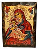 Greek Christian Orthodox Icon ...