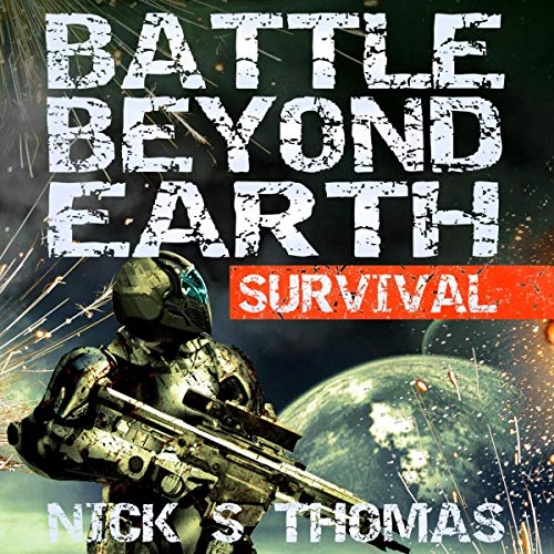 Battle Beyond Earth: Survival audiobook cover art