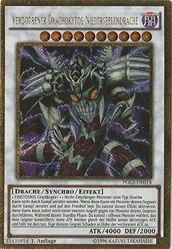 Yu-Gi-Oh! Verdorbener Drachokytos Niederseelendrache - Gold Secret Rare