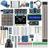 Uno R3 Mega2560 Kit Del MóDulo Del Sensor MáS Completa Starter Kit De Componentes ElectróNicos Accesorios Set BáSico De Arranque