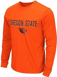 Mens NCAA Oregon State Beavers Long Sleeve Tee Shirt (Team Color)