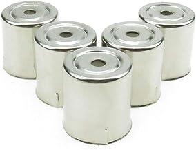 QINGRUI Replacement Parts Tapas Redondas de Acero 5PCS / Inoxidable Agujero magnetrón Las Piezas de Repuesto de microondas Easy to Install