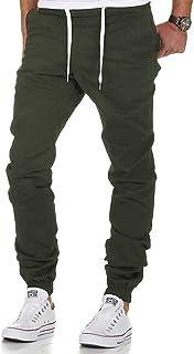 KUKICAT Pantalons de Sport Casual Jogging,/ét/é /À Carreaux Slim Grande Taille avec Poches Ceinture /élastique Mode Casual Jogger Pant Homme Surv/êtement Training Pants Activewear Sportswear