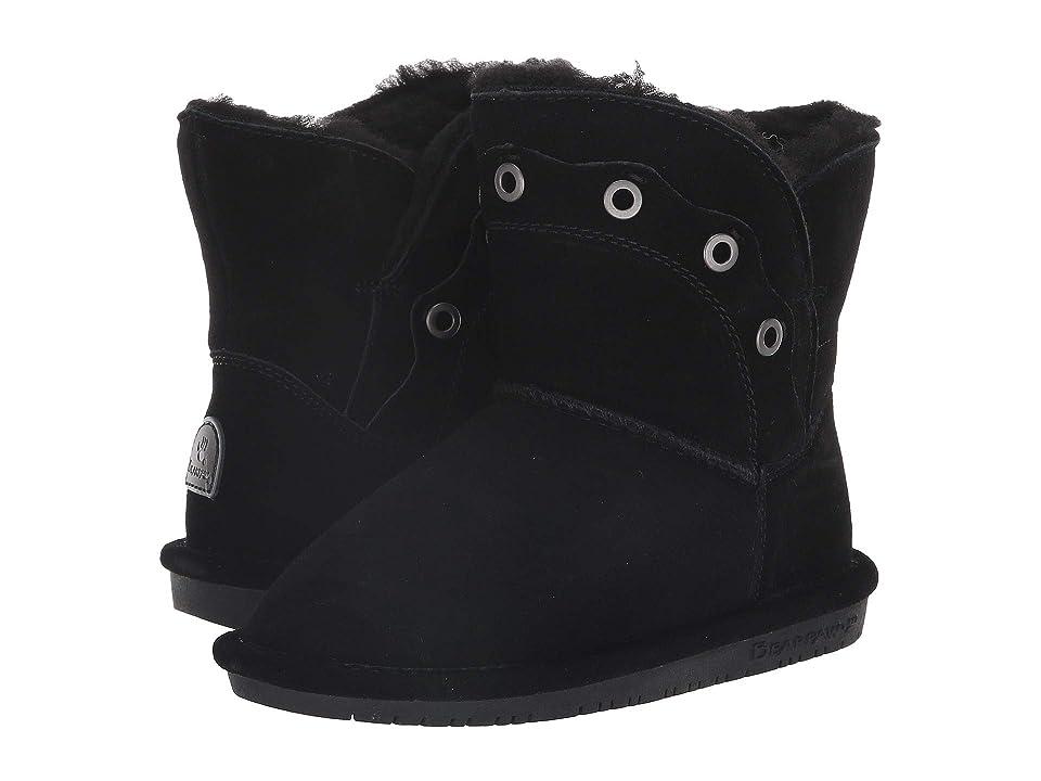 Bearpaw Kids Gypsy (Little Kid/Big Kid) (Black) Girls Shoes