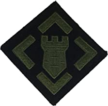 UNITED STATES ARMY 20TH ENGINEER BRIGADE UNIT Patch - OD Green/Black - Veteran Owned Business.