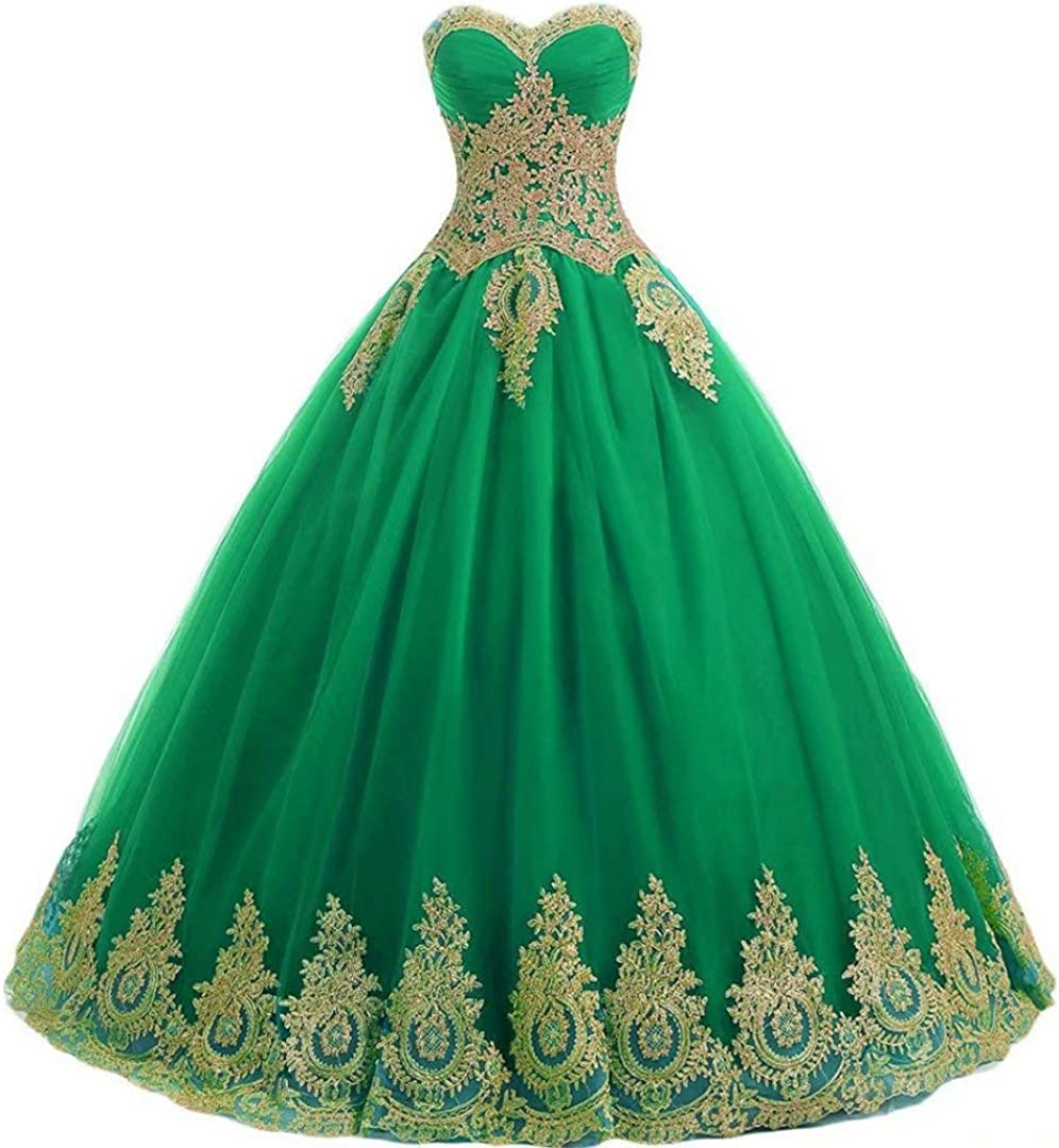 DKBridal Sale Special Price Women's Tulle Quinceanera Dresses Formal Ball Popular popular Swee Gown