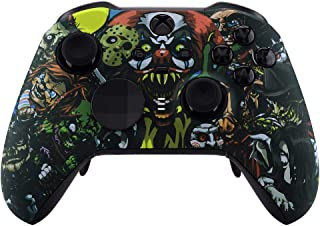 Scary Party UN-MODDED Custom Controller Compatible with Xbox ONE Elite Series 2 Soft Touch Finish