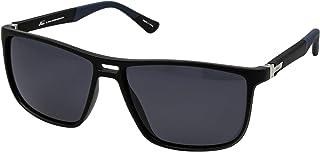 نظارات نمط رترو 5027 C:4 للرجال لون ازرق واسود (لون واحد)، (مستقطبة)