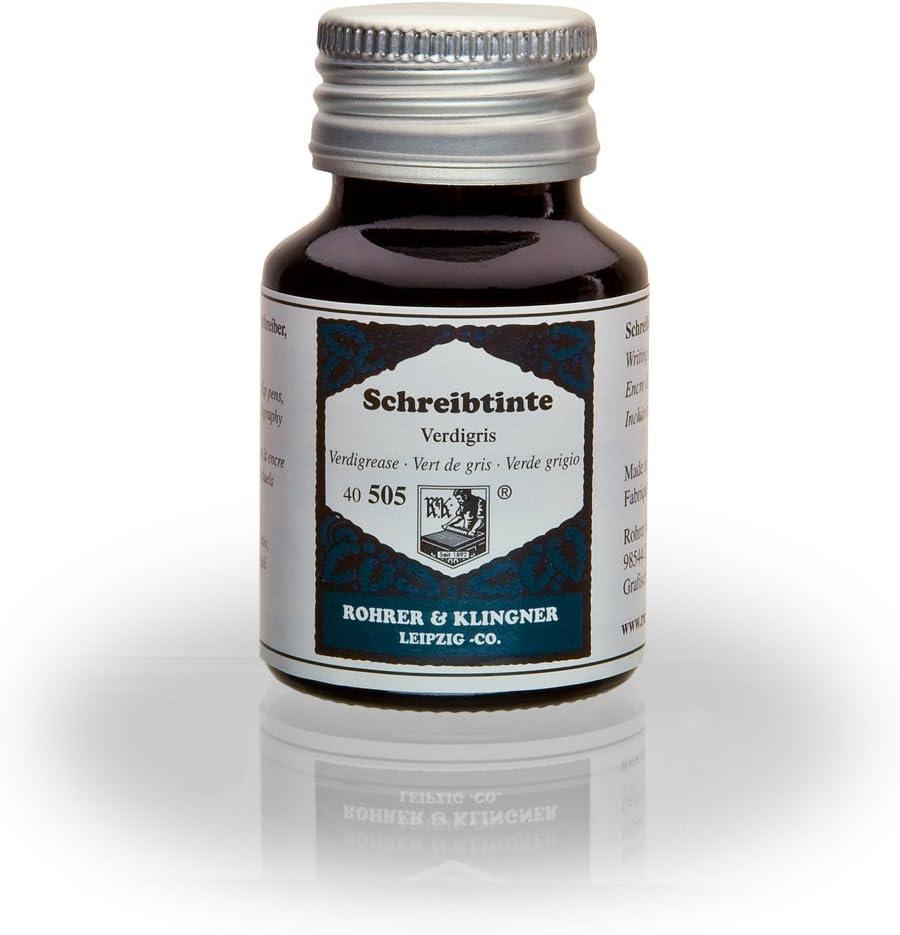 Rohrer Klingner 50 ml Super beauty Limited Special Price product restock quality top Bottle Fountain Verdigris Pen Ink