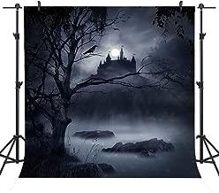 Sensfun Night Halloween Theme Photo Backdrop Customized Photography Studio Props Kids Party Background Decor 6x6ft