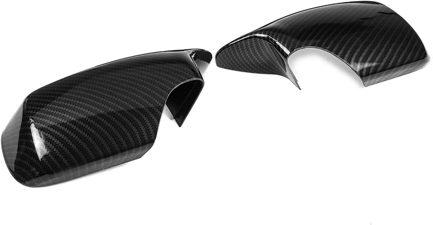 Door Mirror Cover Max 48% OFF M3 Sytle Side Rear Free shipping anywhere in the nation Car View