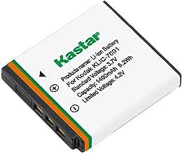 Kastar Battery for Kodak KLIC-7001, K7001and Kodak EasyShare M320, M340, M341, M753 Zoom, M763, M853 Zoom, M863, M893 is, ...
