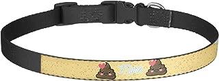 RNK Shops Poop Emoji Dog Collar (Personalized)