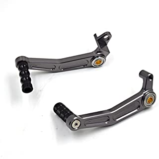 Motorrad Bremsen Schalthebel Hebel Gear Shift hebel für Duke 125 200 390 RC125/RC200/RC390 Kupplung Pedalhebel Grau