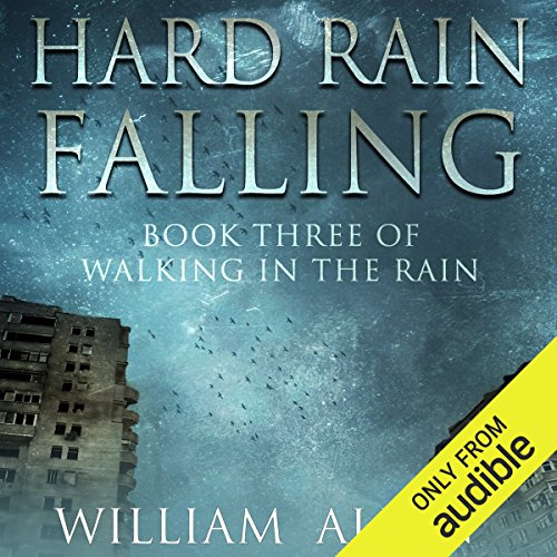 Hard Rain Falling audiobook cover art