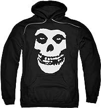 Popfunk Misfits Officially Licensed Skull Pullover Hoodie Sweatshirt & Stickers